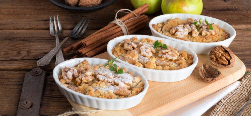 RETSEPT: Hõrgutav toit, mis sobib nii hommikuks kui õhtuks — puder kaneeli ja õuntega