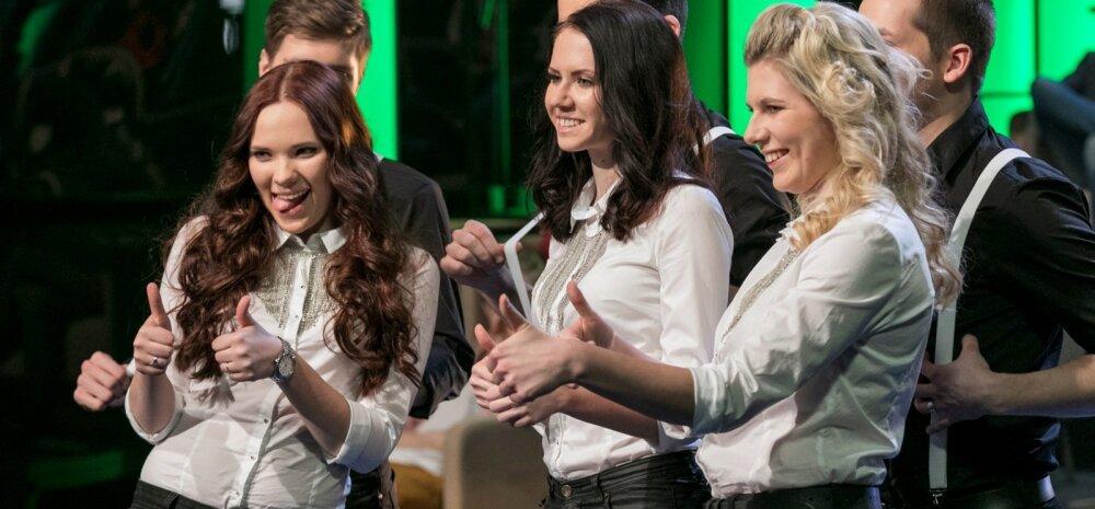 Eesti Laul 2015 1. poolfinaal saade ETV stuudios