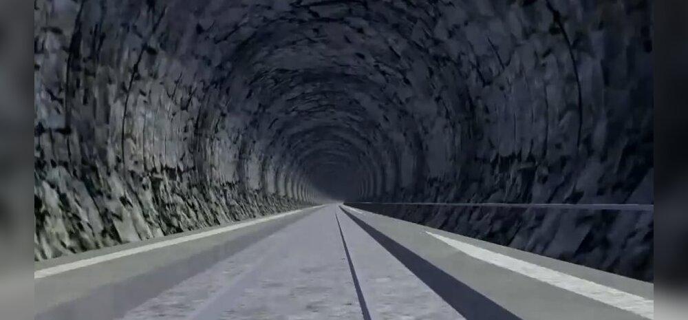 Norra asub ehitama pikimat raudteetunnelit: neli puurimismasinat korraga kalju sisse
