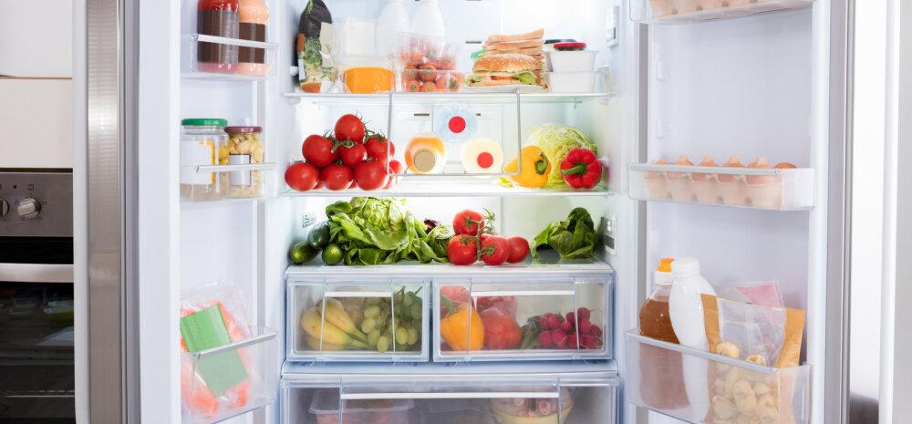 Ära riski oma tervisega! Loe, kui kaua erinevad toidud külmikus säilivad