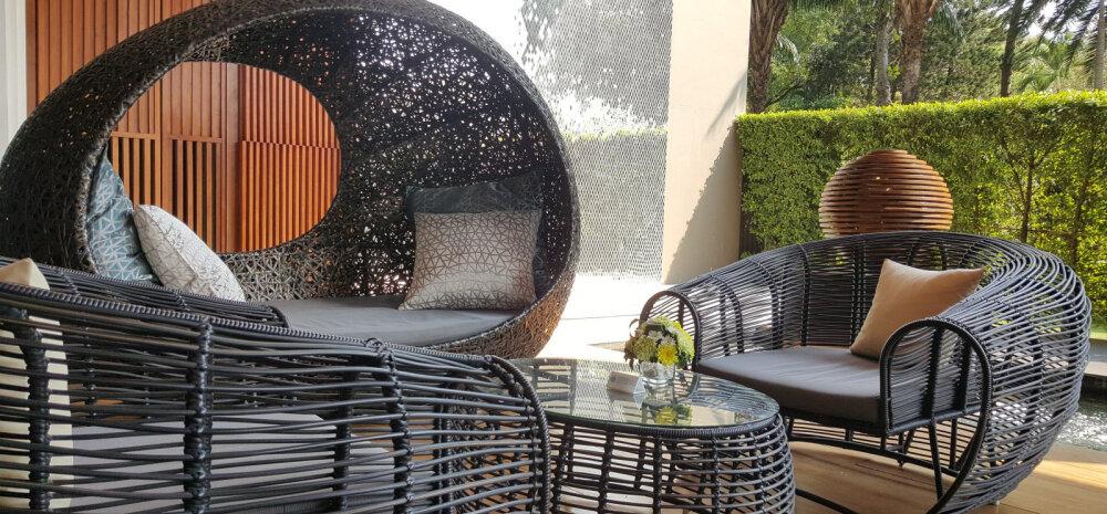 Loo kontori terrassile või aeda inspireeriv töö- ja puhkeruum