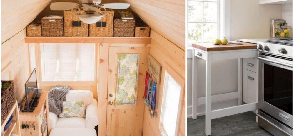 ФОТО │ 33 идеи, как выжать максимум из маленького дачного домика