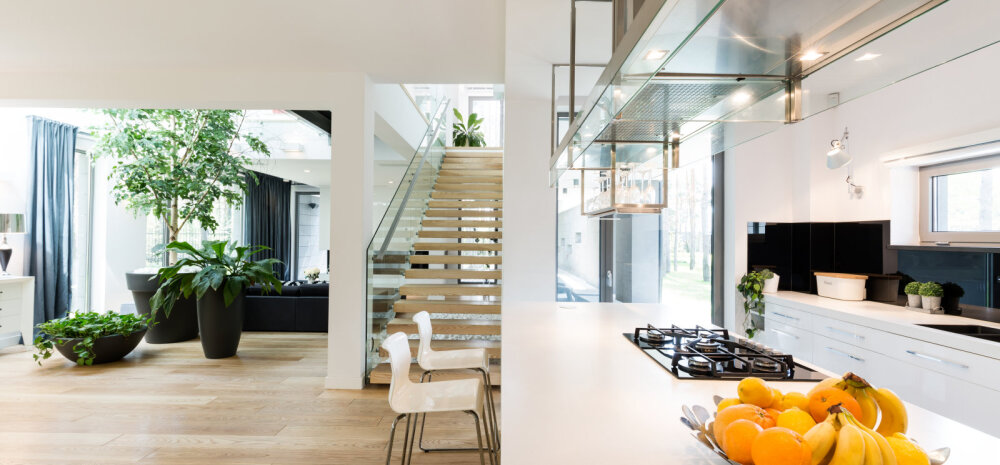 Levinud vead, mida avatud planeeringuga kodu kujundades tehakse