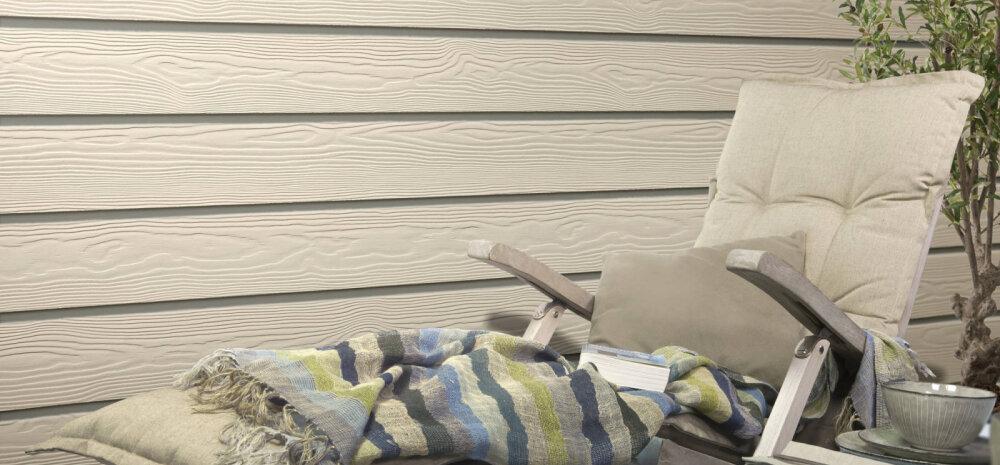 Unistus puitmajast on asendunud Cedrali voodrilaudade iluga