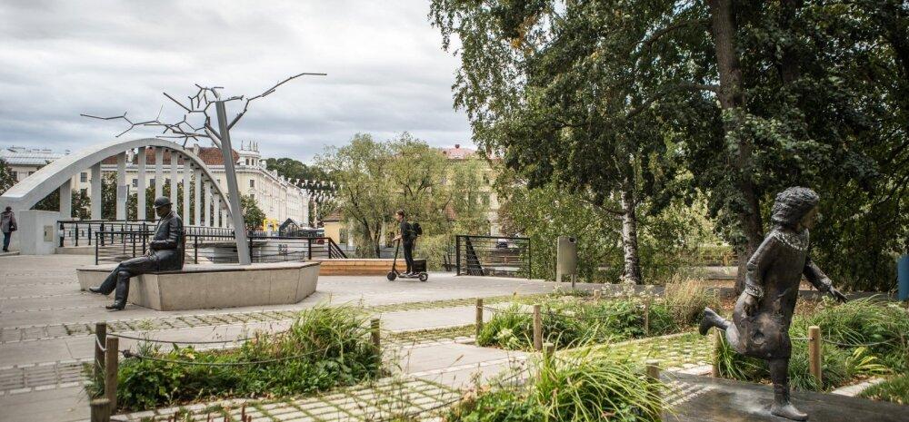 ФОТО | Мемориал жертвам коммунизма против детской площадки. Какие проекты поборются за премии года Союза ландшафтных архитекторов