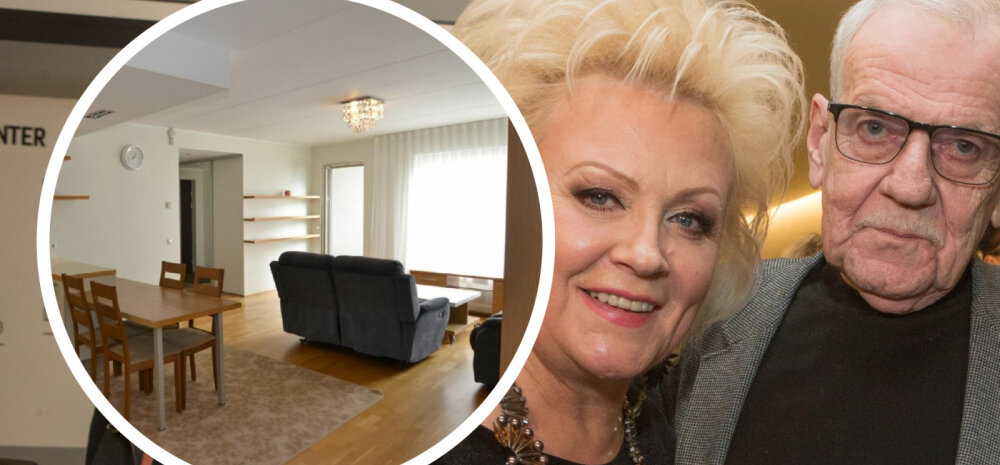 ФОТО | Гараж, сауна и балкон с прекрасным видом: Анне Вески сдает в аренду свою квартиру в Кадриорге