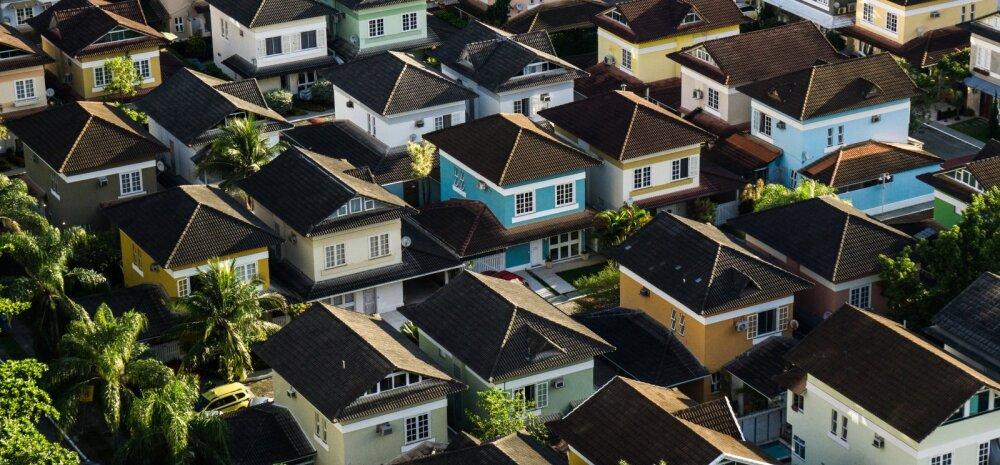 Kinnisvaratehingute arv on kriisi tõttu langenud, aga kas ka hinnad?