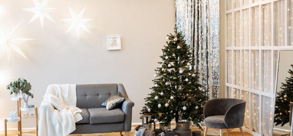 Kümme põhilist viga, mida jõuludeks kodu kaunistades tegema kiputakse