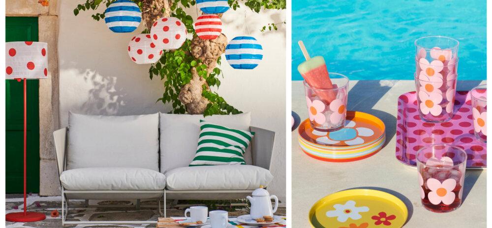 FOTOD | IKEA suvekollektsioon pühitseb rõõmsaid värve ja mustreid