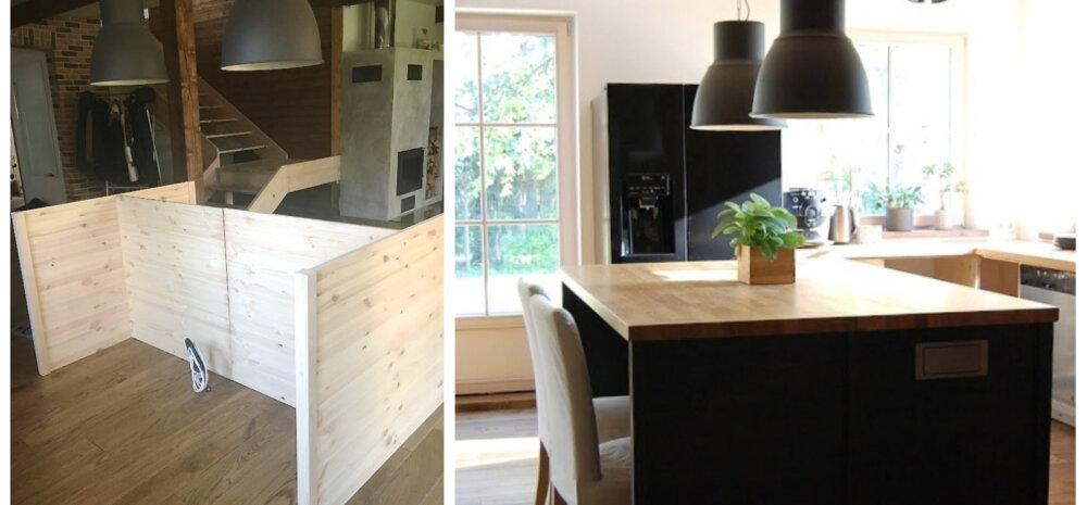 KODUBLOGI | Kuidas me ise puidust kööki ehitame vol 2 ehk külmkapi valimine ja köögisaare ehitus