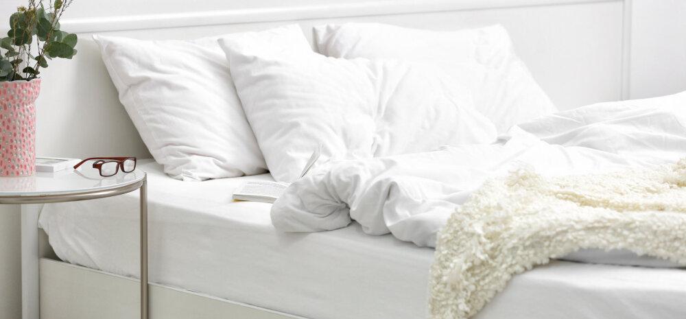 Lihtsad ja toimivad nipid, kuidas voodipesu säravvalgena hoida