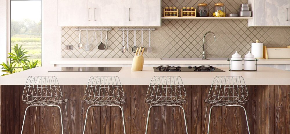 Köögi tagasein — milline materjal valida?