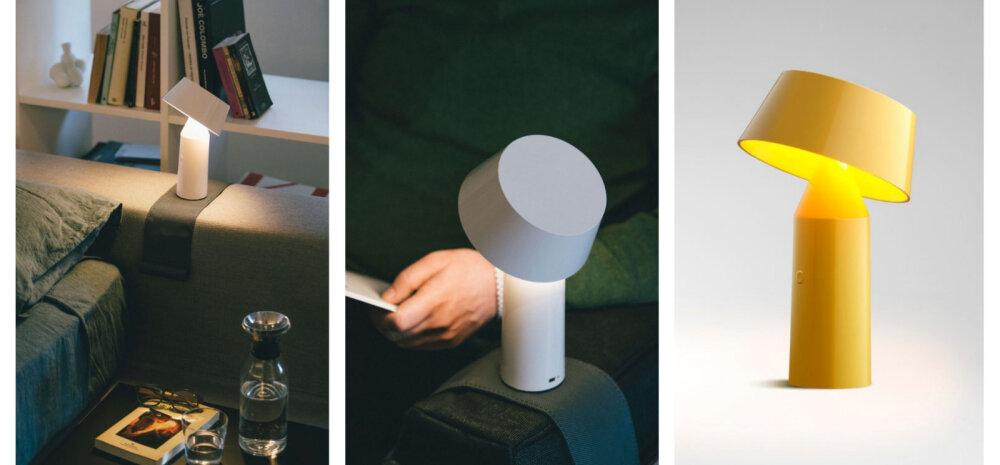 Too juhtmevaba disainvalgusti oma diivanile