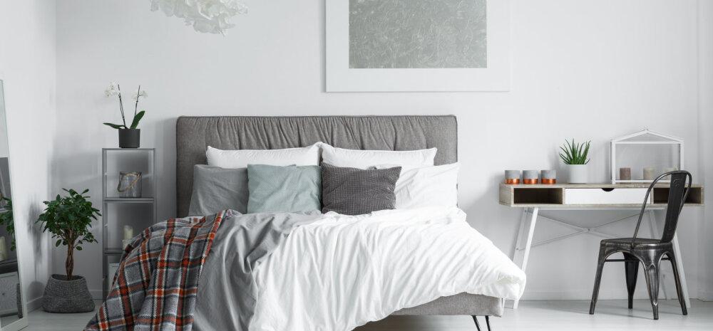 FOTOD | Minimalistlikud magamistoad, kus on ruumi vaid heale unele