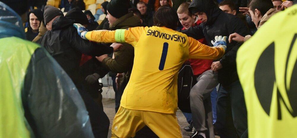 Kaklus Kievis - Dynamo vs Guingamp