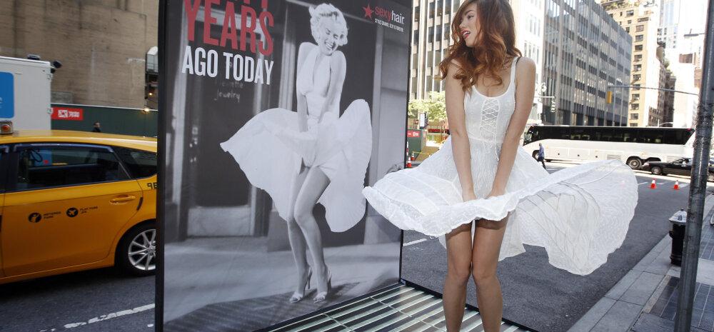 Imekaunid FOTOD: Kas sina teadsid, et Marilyn Monroe polnud ainult seksisümbol, vaid ka joogatšikk?