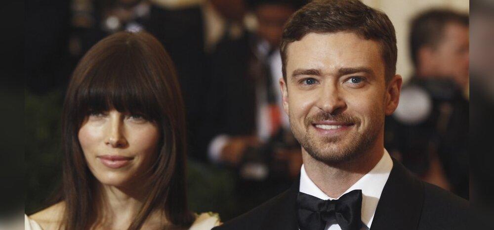 Kas vastabiellunud Jessica Biel ja Justin Timberlake on tõesti juba lapseootel?