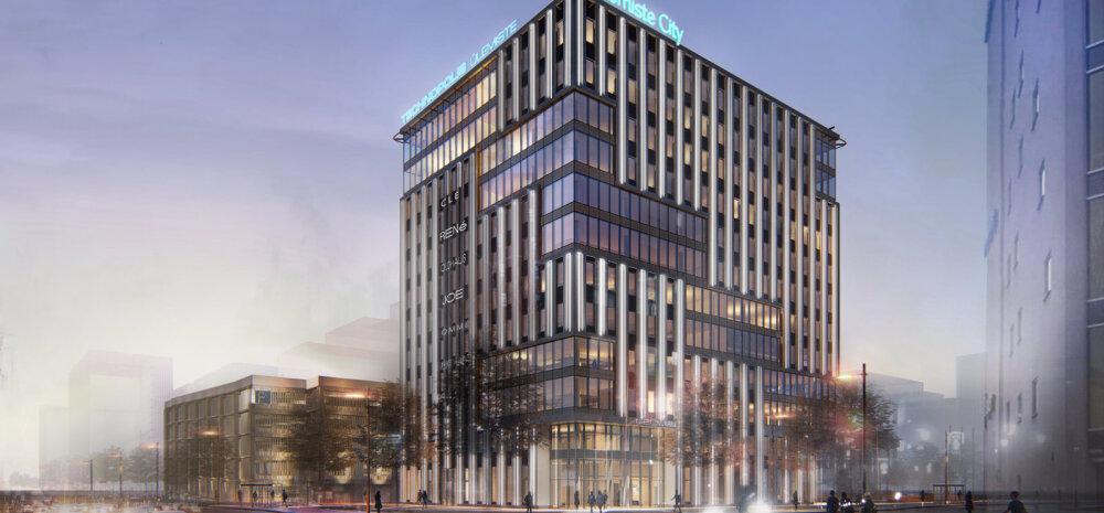 Выбран застройщик, который построит новое 12-этажное офисное здание Technopolis Ülemiste