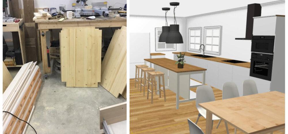 KODUBLOGI | Kuidas me ise puidust kööki ehitame