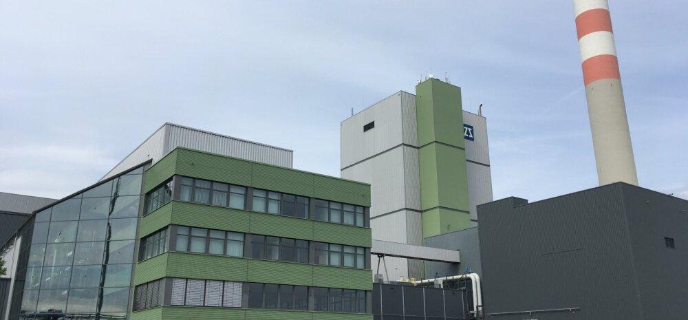 Stendali tehas Saksamaal, Elbe jõe ääres.
