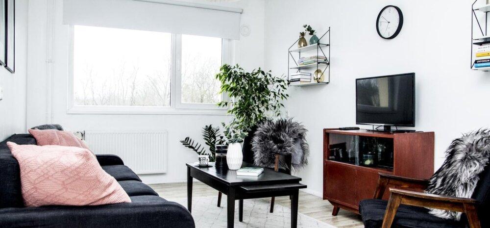 FOTOD | Helge ja põhjamaine korter nõukaaegses paneelmajas