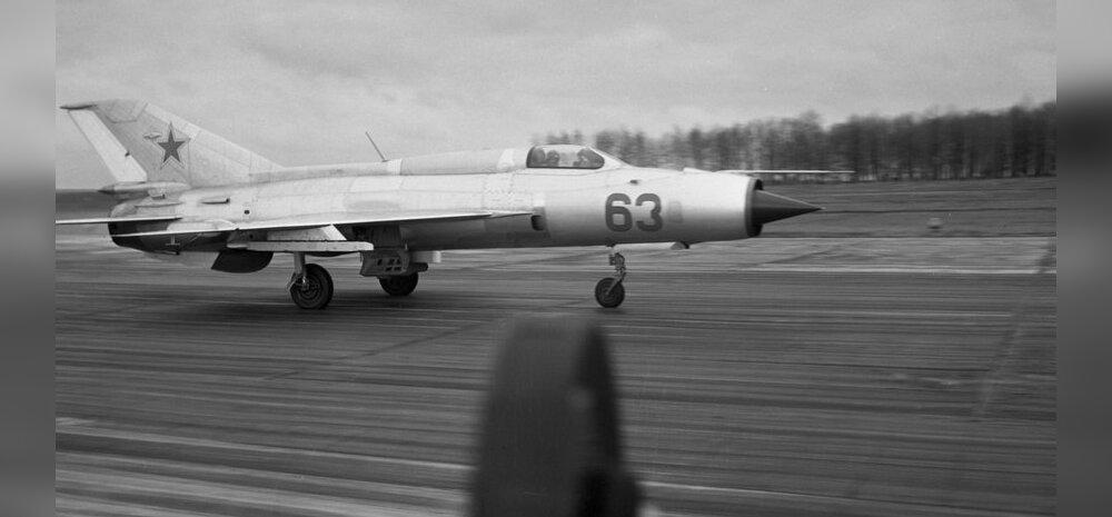 Dokumendid: USA katsetas Area 51-s salaja omandatud Nõukogude lennukeid