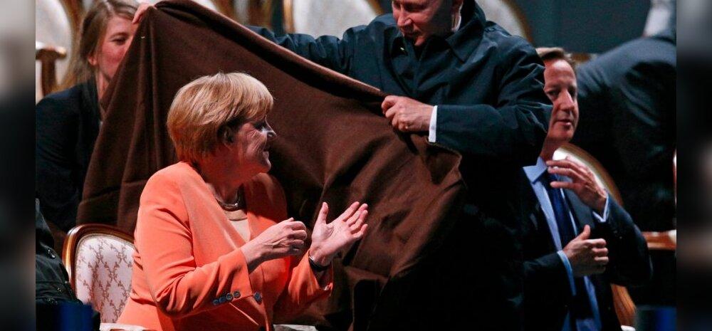 Merkel hurjutas öises telefonivestluses Putinit