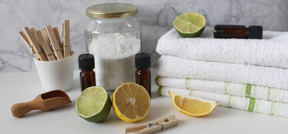 Kodu läikima — proovi neid ise tehtud koduseid puhastusvahendeid