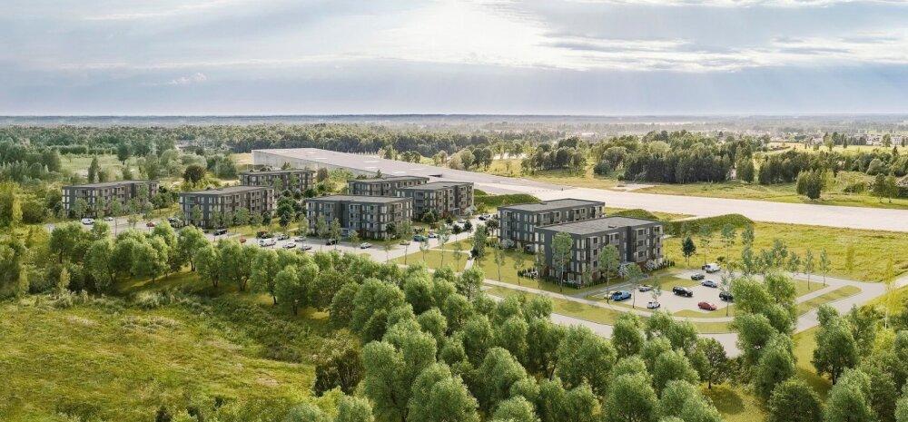 ФОТО │ Крупнейший в Тарту строительный проект: появятся 256 новых квартир