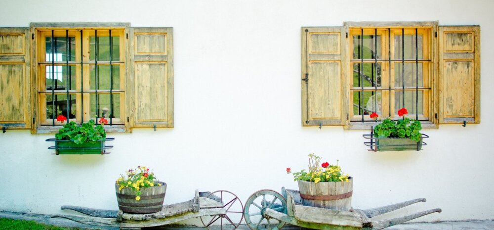 СВОИМИ РУКАМИ│Вазоны для цветов из древесины и бетона