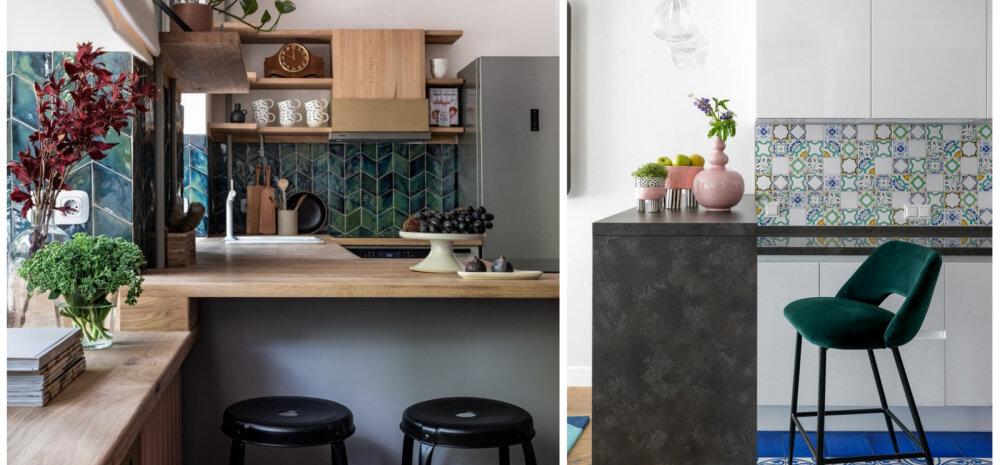 ГАЛЕРЕЯ │ Фотоидеи: барная стойка на кухне