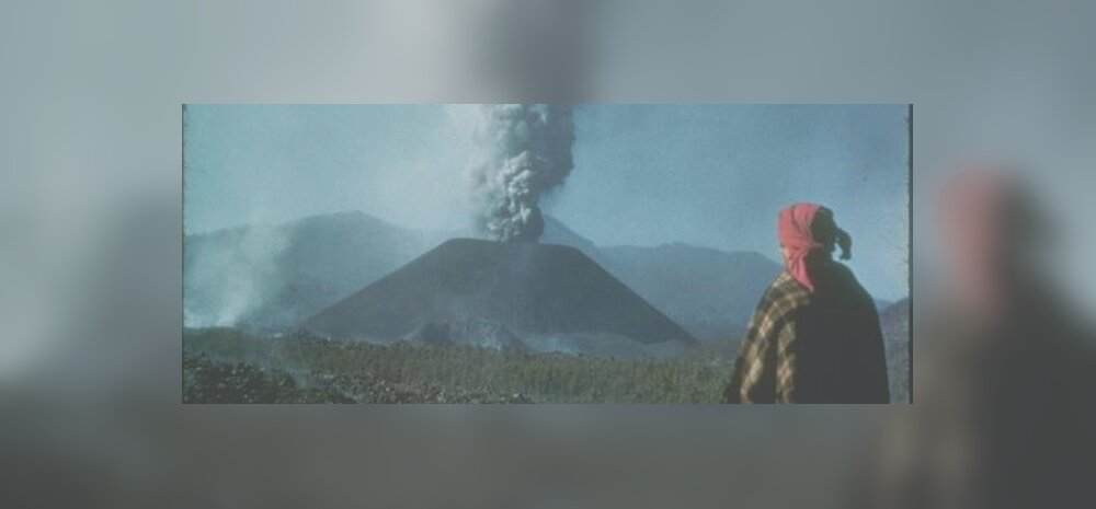 Vulkaan, mis kerkis maapinnale täna, 71 aastat tagasi, reaalajas