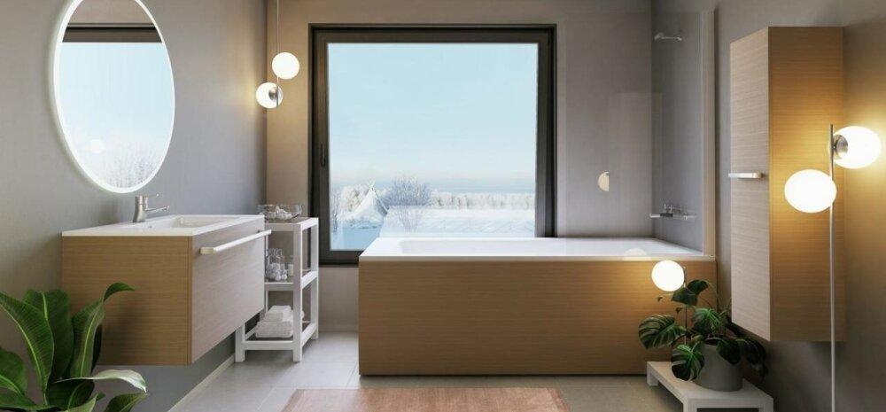 Merje kiidab uue tulijana Forma seeriat: nii vann kui ka mööbel on ühe viimistlusega. Vanni paneel on visuaalselt müravaba, kuna puuduvad nähtavad kinnituskohad. Lisaks on paneeli lihtne eemaldada ja hooldada.