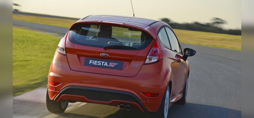 Proovime sõitu: Ford Fiesta ST on väljakutsuv rõõmurull linnatänaval!