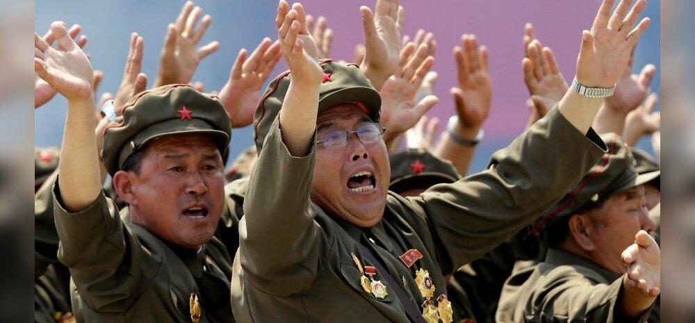 Põhja-Korea: vahistati Ameerika sõjaveteran
