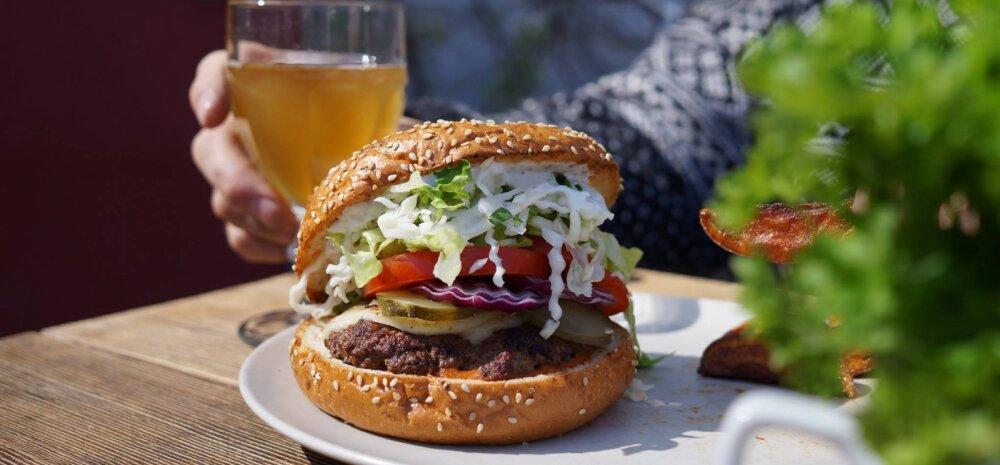 Töötaja vihjab: Tallinna populaarse burgerikoha liha tuleb Keskturult ja kuklid Koplist