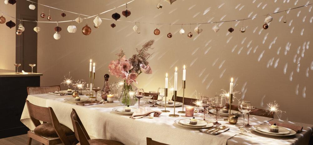 Disainer Johanna Malmgren: Nõuandeid, kuidas aastavahetuse söögilaud eriliselt meeldejäävaks kujundada