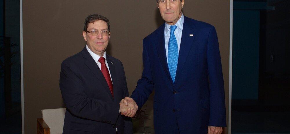 USA ja Kuuba vahel toimus kõrgeimal tasemel kohtumine viimase enam kui 50 aasta jooksul