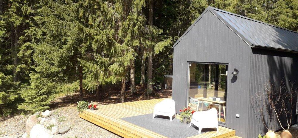 ФОТО | Модный дом на западе Эстонии, управляемый с мобильного телефона