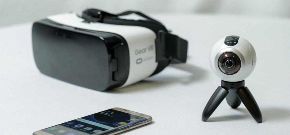 Samsung toob turule 360° videot filmiva kaamera Gear 360