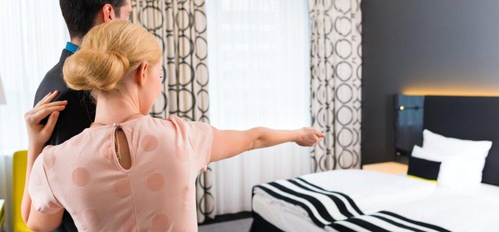 PUHKAJA ÕUDUSUNENÄGU: hotellis olid lubatud mugavuste asemel mustus ja prussakad