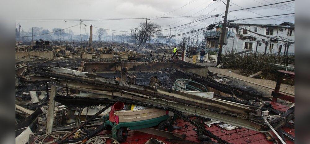 Orkaan Sandy: ohvrid, kahjud ja hoiatused osariikide kaupa