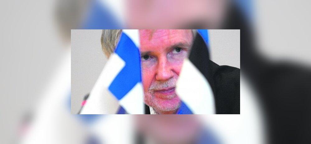 Soome välisminister Tuomioja salvas Ilvest
