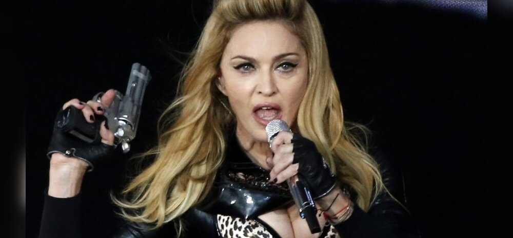 FOTOD: Madonna katsetus seksikas pesus esineda lõppes iga naise õudusunenäoga!