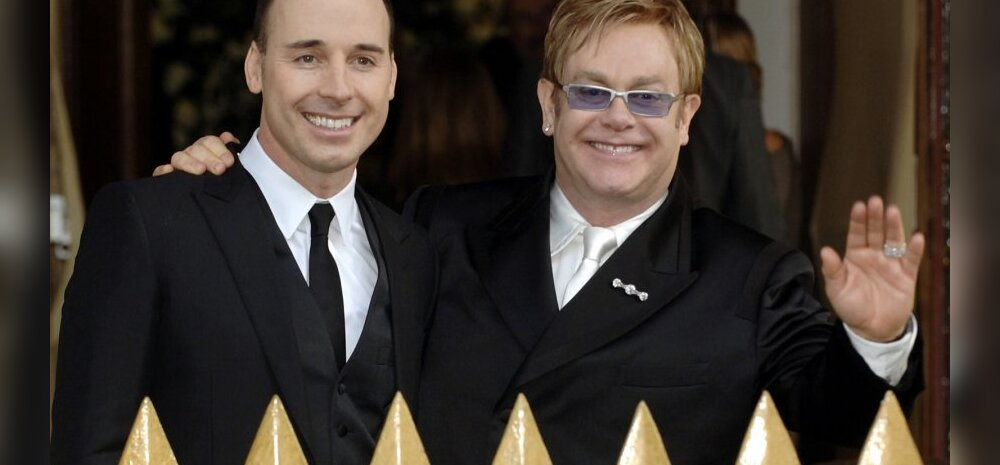 Elton John ja John Furnish