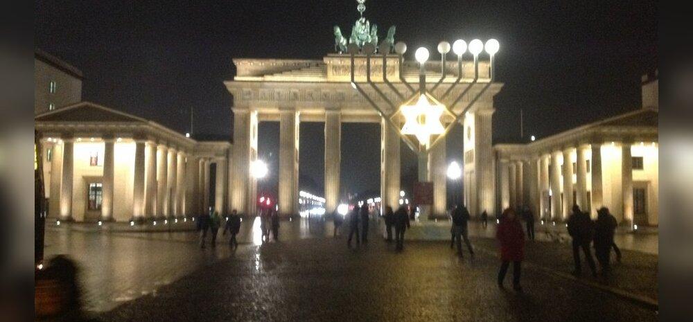 Menorah-küünal Berliinis