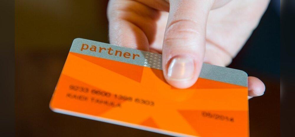 Kolmekordse Partnerkaardi ostuboonuse lubaduse saanud klient jäi poes pika ninaga