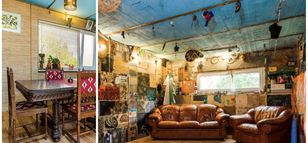 ФОТО │ Дом знаменитого эстонского художника и диджея, или Дух Ямайки в Нымме