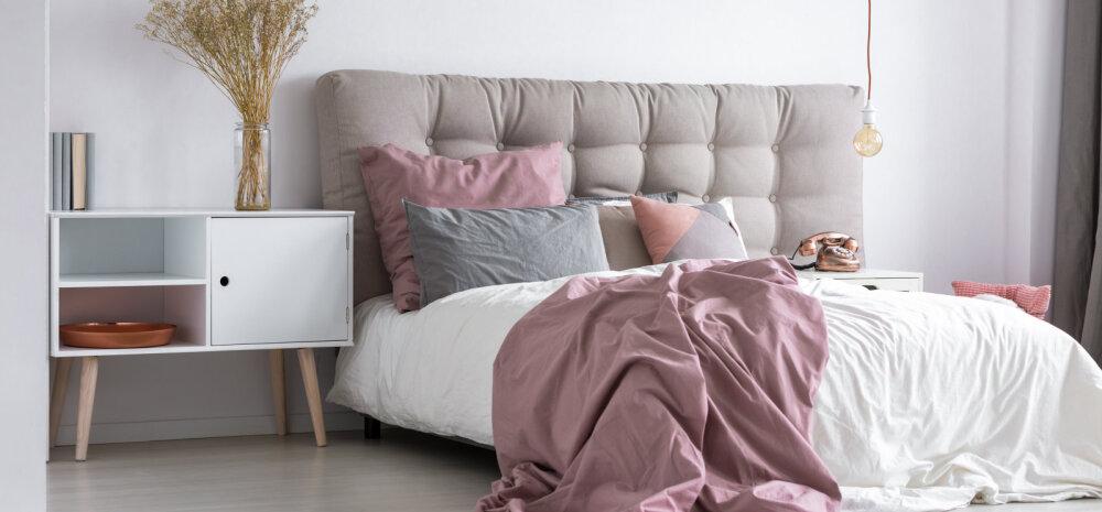 Kuidas kujundada kaunis ja hubane magamistuba? Loe sisekujundajate nõuandeid!
