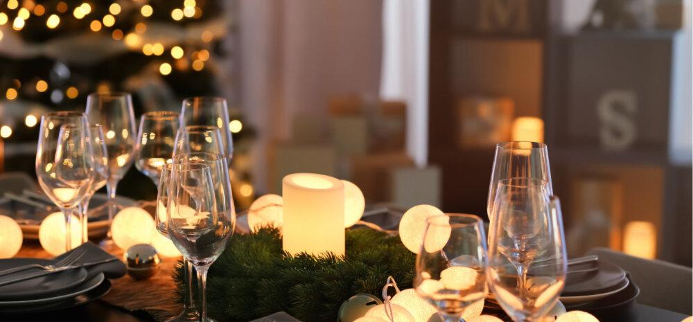 ФОТО   Как украсить стол на Рождество: 12 подсказок